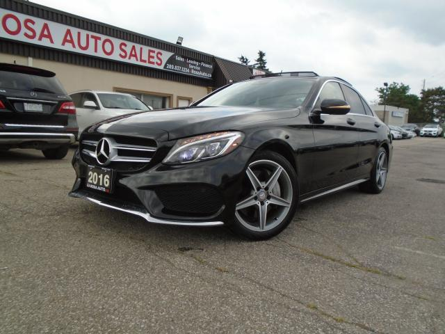 2016 Mercedes-Benz C-Class AWD 4MATIC NAVIGATION B-CAM PANORAMIC NO ACCIDENT
