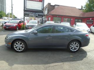 Used 2010 Mazda MAZDA6 GT- ONE OWNER- MINT- LEATHER- PUSH START- AC-CLEAN for sale in Scarborough, ON