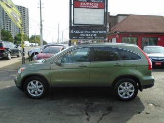 Used 2007 Honda CR-V EX-L- LEATHER- ROOF - NAV- REV CAM - ONE OWNER for sale in Scarborough, ON