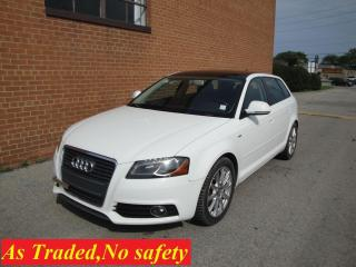 Used 2010 Audi A3 NO ACCIDENTS/LEATHER , REVERSE GEAR SLUGGISH for sale in Oakville, ON