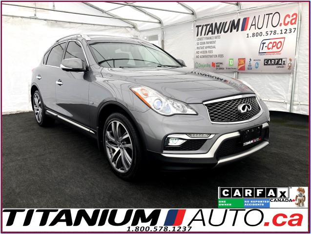 2017 Infiniti QX50 AWD+GPS+360 Camera+Sunroof+Bose Sound+Leather+XM+