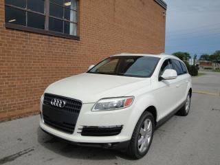 Used 2007 Audi Q7 Premium/7 PASSENGER/LEATHER SUNROOF for sale in Oakville, ON