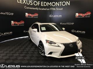 Used 2016 Lexus IS 300 F Sport Series 1 for sale in Edmonton, AB