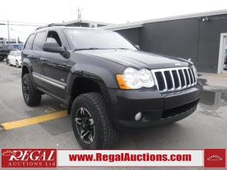 Used 2008 Jeep GRAND CHEROKEE NORTH EDITION 4D UTILITY 4WD for sale in Calgary, AB