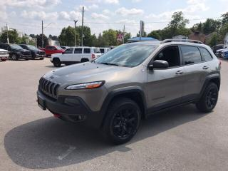 Used 2016 Jeep Cherokee Trailhawk | Navigation | Power Liftgate | Pushbutt for sale in Mitchell, ON