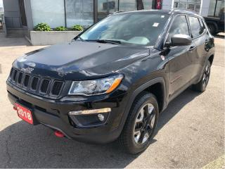 Used 2018 Jeep Compass Trailhawk 4x4 w/Leather, Navi, Beats Audio, Safety for sale in Hamilton, ON