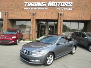 2014 Volkswagen Passat TDI | NO ACCIDENTS | LEATHER | SUNROOF | HEATED SEATS | BT