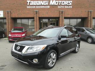 Used 2013 Nissan Pathfinder PLATINUM | NO ACCIDENTS | DVD | SUNROOF | 360 CAM | BT for sale in Mississauga, ON