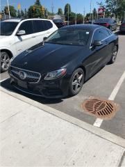 Used 2018 Mercedes-Benz E-Class E400 4MATIC Coupe TECK PACK, DRIVE PACK for sale in Ottawa, ON