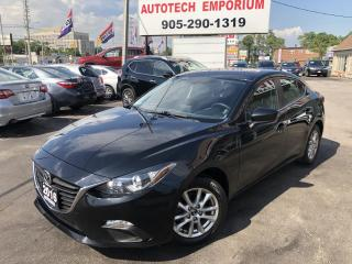 Used 2016 Mazda MAZDA3 GS Convenience Pkg Navigation/Htd Seats/Camera/Alloys for sale in Mississauga, ON