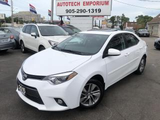 Used 2015 Toyota Corolla LE Eco Plus Navigation/Sunroof/Leather/Camera/Htd Seats for sale in Mississauga, ON
