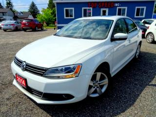 Used 2014 Volkswagen Jetta Comfrtline TDI DSG Sunroof Back-up Camera Bluetooth Certified for sale in Guelph, ON