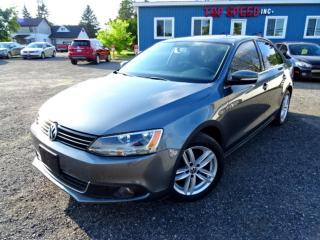 Used 2013 Volkswagen Jetta Comfortline TDI DSG Sunroof Heated seat Bluetooth Certified for sale in Guelph, ON