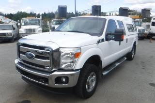 Used 2011 Ford F-250 SD XLT Crew Cab Long Box 4WD with Canopy for sale in Burnaby, BC