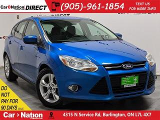 Used 2012 Ford Focus SE| LOCAL TRADE| SUNROOF| for sale in Burlington, ON