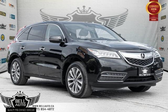 2015 Acura MDX Nav Pkg, SH-AWD, SUNROOF, BACK-UP CAM, PUSH START