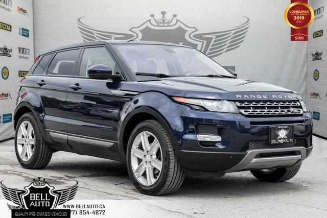 2014 Land Rover Evoque Pure Plus, NAVI, BACK-UP CAM, PANOROOF