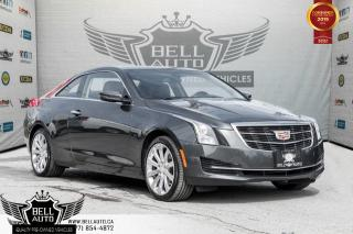 Used 2015 Cadillac ATS Coupe Standard AWD, NO ACCIDENT, REAR CAM, LEATHER, SUNROOF for sale in Toronto, ON