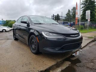 Used 2015 Chrysler 200 LX 2.4L 4 cyl Low Payments! 200 for sale in Edmonton, AB