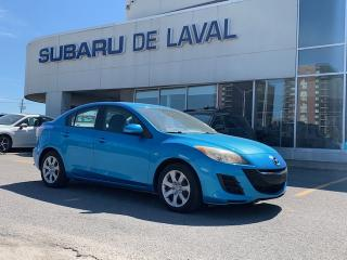 Used 2010 Mazda MAZDA3 GX ** 8 pneus ** for sale in Laval, QC