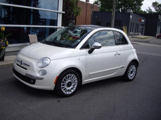 Used 2012 Fiat 500 Lounge for sale in Montréal, QC