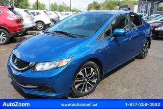 Used 2014 Honda Civic EX **SUNROOF** FINANCEMENT FACILE !! for sale in Laval, QC