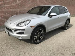 Used 2012 Porsche Cayenne NAVI, AWD, CLEAN for sale in Ajax, ON