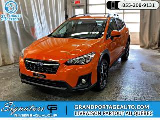 Used 2018 Subaru XV Crosstrek **SEULEMENT 11468 KM ** GARANTI** for sale in Rivière-Du-Loup, QC