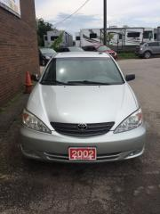 Used 2002 Toyota Camry XLE for sale in Kitchener, ON