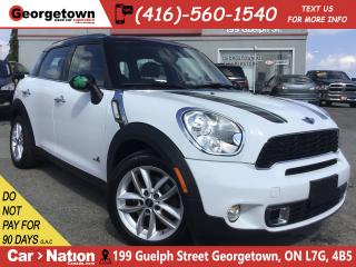 Used 2012 MINI Cooper Countryman S ALL4 | LEATHER |PANO ROOF| ONLY 84 KMS | HTD SEATS for sale in Georgetown, ON