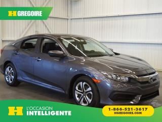 Used 2017 Honda Civic LX A/C-CAMÉRA-GR for sale in St-Léonard, QC