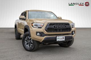 Used 2017 Toyota Tacoma TRD OFFROAD 4DR, 4X4, APPLE/ ANDROID PLAY, LINED BOX AND TOW PACKAGE for sale in Surrey, BC