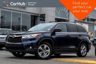 Used 2016 Toyota Highlander Limited|JBL_Audio|Keyless_GO|Parking_Assist|19