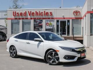 Used 2017 Honda Civic TOURING NAVI BCKP for sale in North York, ON