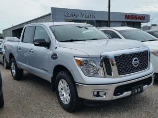 Used 2017 Nissan Titan SV 4x4 Crew Cab 5.6ft box for sale in Cambridge, ON