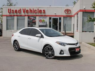 Used 2016 Toyota Corolla S for sale in North York, ON