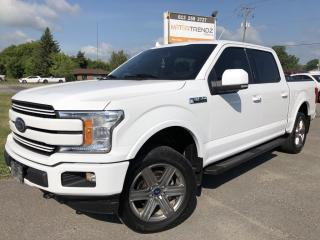 Used 2018 Ford F-150 Loaded Lariat Crew with Heated Leather, Panorama Roof and NAV! for sale in Kemptville, ON
