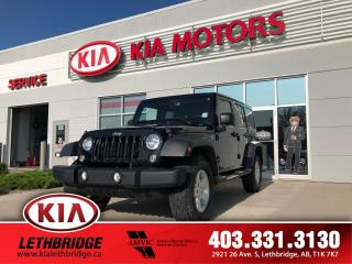 Used 2015 Jeep Wrangler UNLIMITED SPORT for sale in Lethbridge, AB