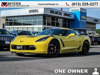 Used 2017 Chevrolet Corvette Grand Sport  GRANDSPORT, 1LT, MANUAL, CARBON FIBRE KIT, END OF SEASON SALE!!! for sale in Ottawa, ON