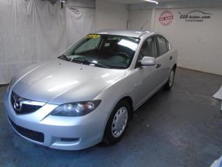 Used 2008 Mazda MAZDA3 for sale in Ancienne Lorette, QC