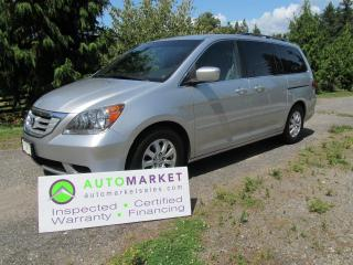 Used 2010 Honda Odyssey EX, INSP, BCAA MBSHP, WARRANTY, FINANCING for sale in Surrey, BC