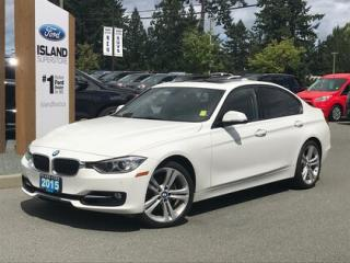 Used 2015 BMW 3 Series 328i Leather, Moonroof, AWD for sale in Duncan, BC