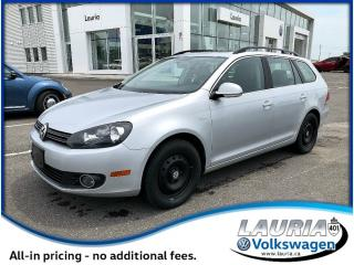 Used 2014 Volkswagen Golf Wagon 2.0 TDI Wolfsburg Edition - Low kms for sale in PORT HOPE, ON