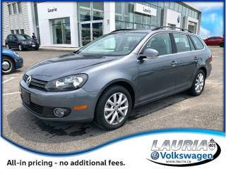 Used 2014 Volkswagen Golf Wagon 2.0 TDI Comfortline Auto - Ultra Low Kms for sale in PORT HOPE, ON