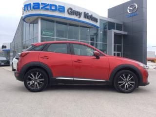 Used 2016 Mazda CX-3 GT- for sale in Owen Sound, ON