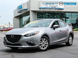 Used 2015 Mazda MAZDA3 GS- 6SPEED MANUAL, BLUETOOTH, HEATED SEATS, REAR SPOILER for sale in Burlington, ON