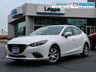 Used 2015 Mazda MAZDA3 GX- AUTOMATIC, A/C, BLUETOOTH, 2.0L SKY-G for sale in Burlington, ON