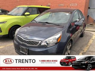 Used 2014 Kia Rio SX | KEY LESS ENTRY | ACCIDENT FREE | SUNROOF for sale in North York, ON