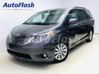 Used 2017 Toyota Sienna XLE * AWD * GPS/Camera *Cuir/Leather * Toit/Roof for sale in St-Hubert, QC