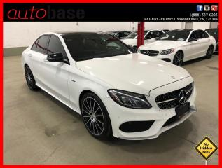 Used 2016 Mercedes-Benz C-Class C450 AMG 4MATIC PREMIUM ACTIVE LED CLEAN CARFAX! for sale in Vaughan, ON